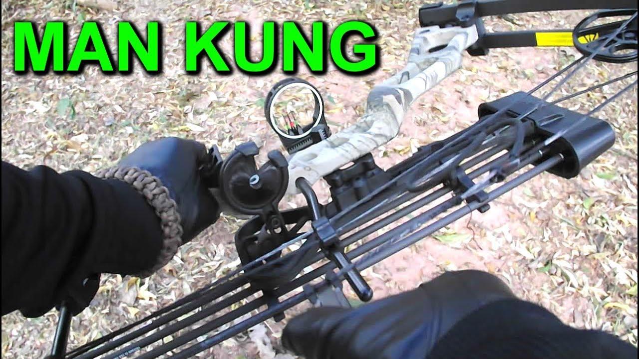 4485e77d6 🎯 Arco Composto 70 lbs - Man Kung - MIRAGE - MK-CBA2GODC - YouTube