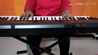 Mauli mauli song on keyboard /lai bhari movie/Atmika Natalkar