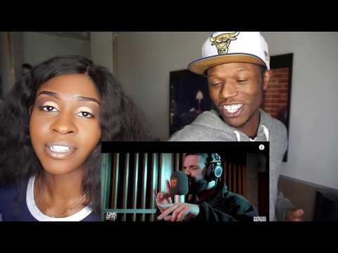 HE DISSED KANYE?! Drake - Behind Barz   Link Up TV - REACTION
