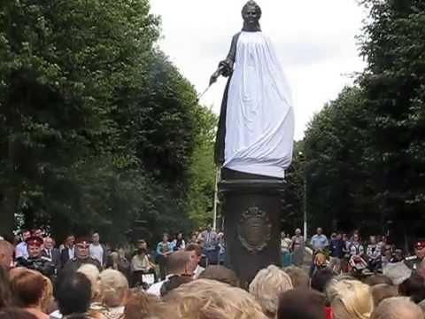Торжественное открытие памятника Екатерине II 29.08.2015 в городе Богородицке Тульской области