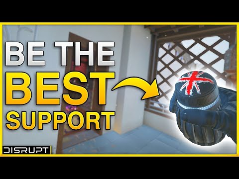 How To Play Support In Rainbow Six Siege