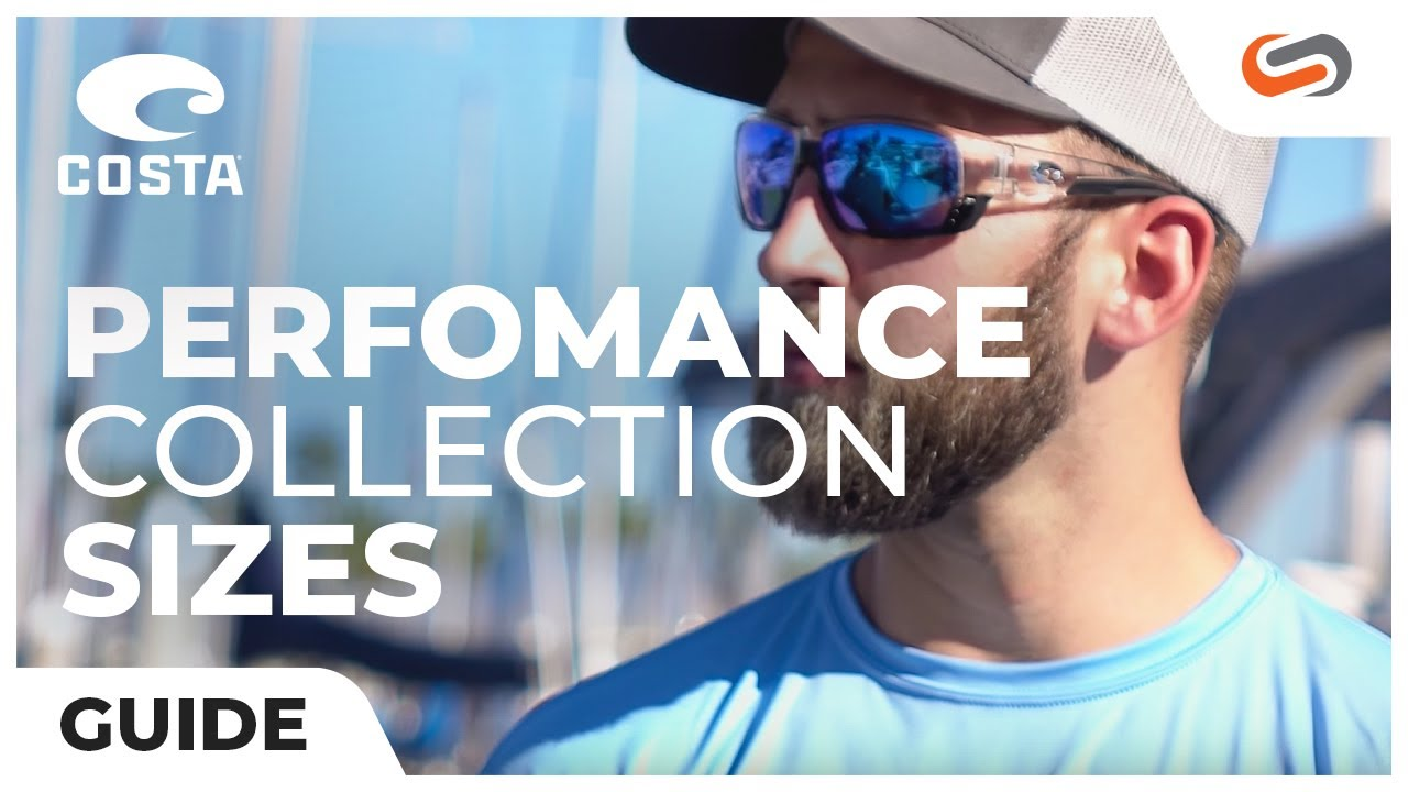 9dfdef8c96 Costa Men s Sunglass Size Guide  Performance Collection