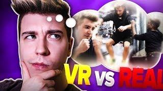 SPORT VR vs PRAWDZIWY TRENING