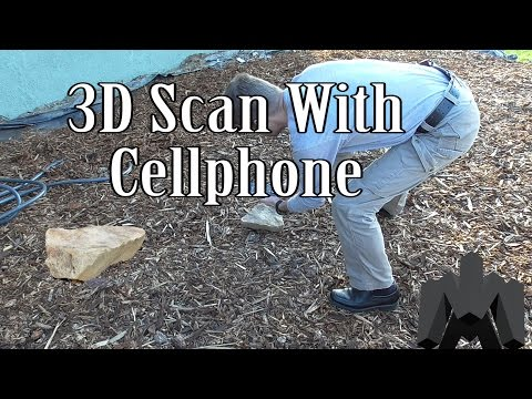 3D Scan With a Cellphone Using Free, Open Source Software