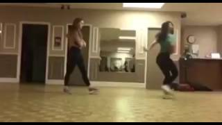 Camila Mendes and Madelaine Petsch dance rehearsal for Riverdale