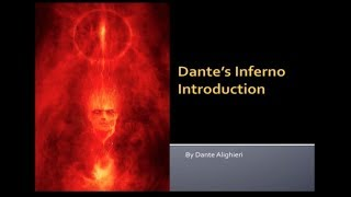 Dante's Inferno Intro Part 1 - Author and Book