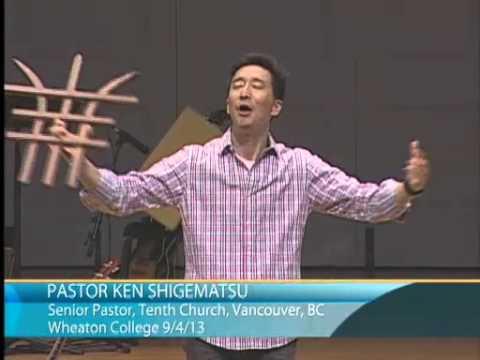 Ken Shigematsu | God in My Everything: Life-Giving Rhythms (09/04/2013)