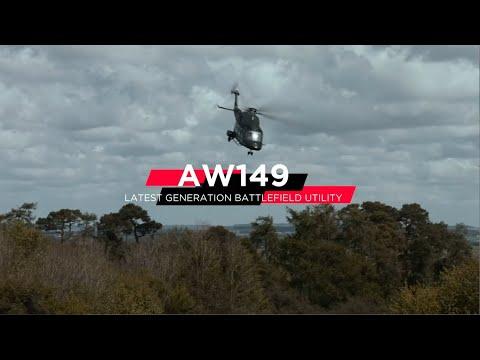Leonardo AW149 multi-role helicopter