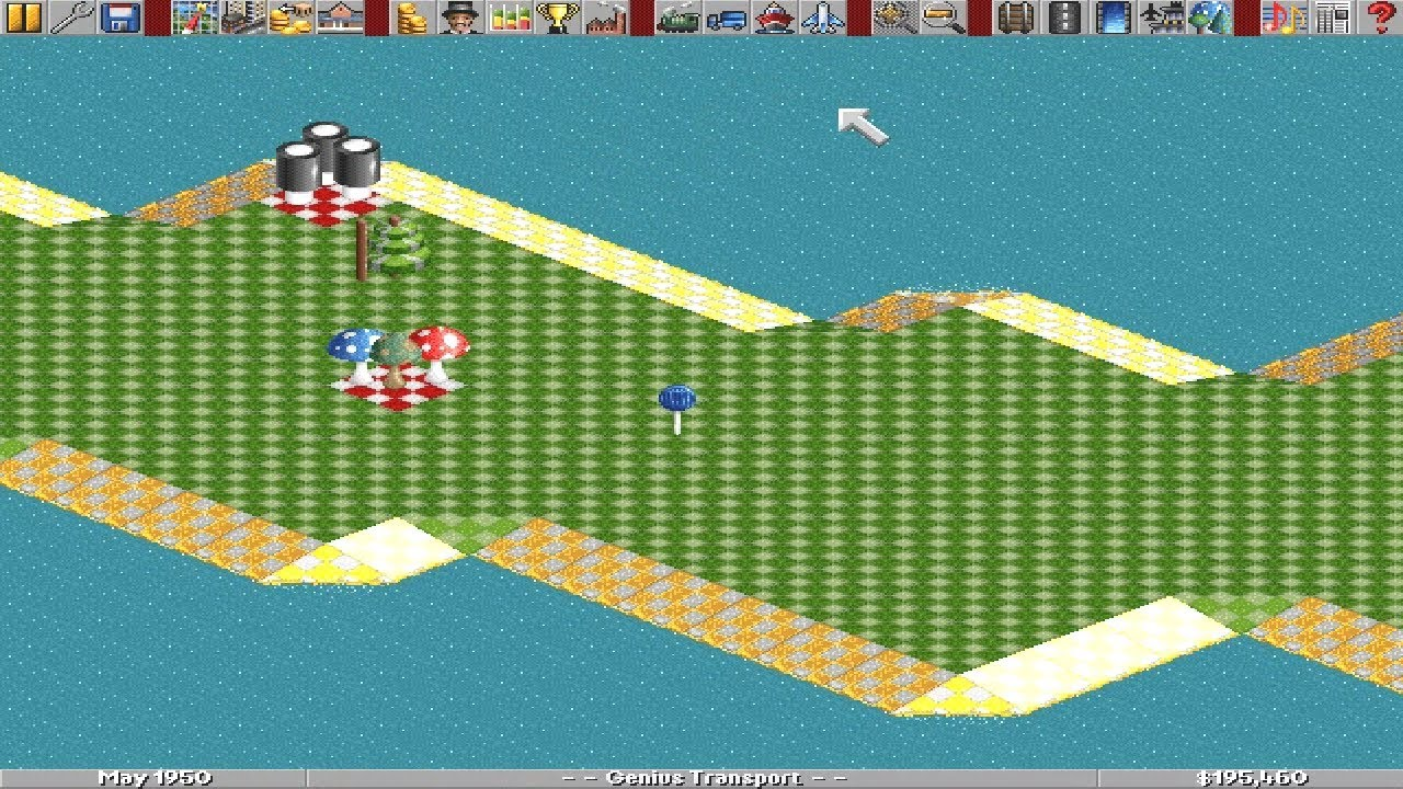 Transport Tycoon (Dos game 1994)