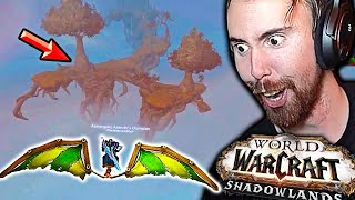 Asmongold Finds Easter Eggs & Secret Zones While Exploring Shadowlands | ft. Mcconnell