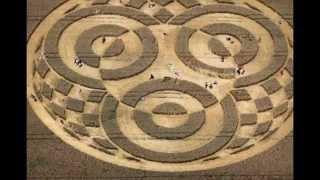Un enorme círculo de trigo Baviera (Alemania)
