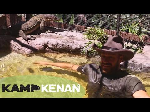 Build a Sick Water Monitor Pond : Kamp Kenan S3 Episode 39