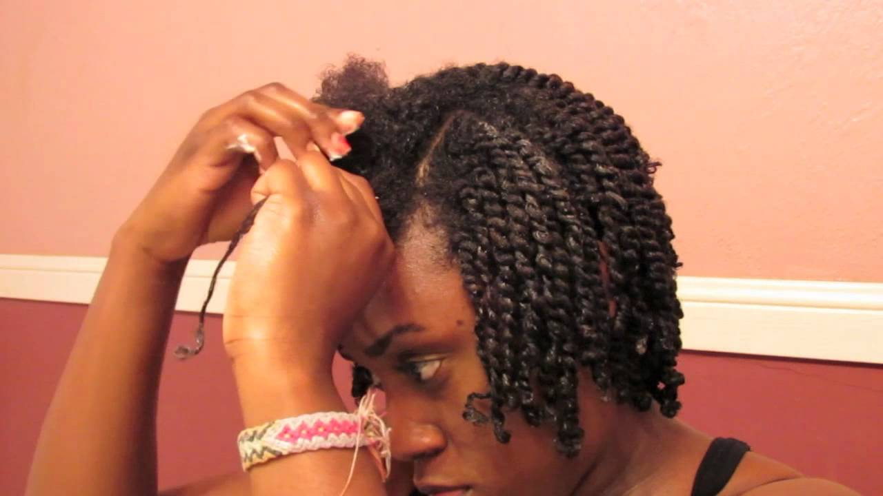 semi mini twists tutorial natural