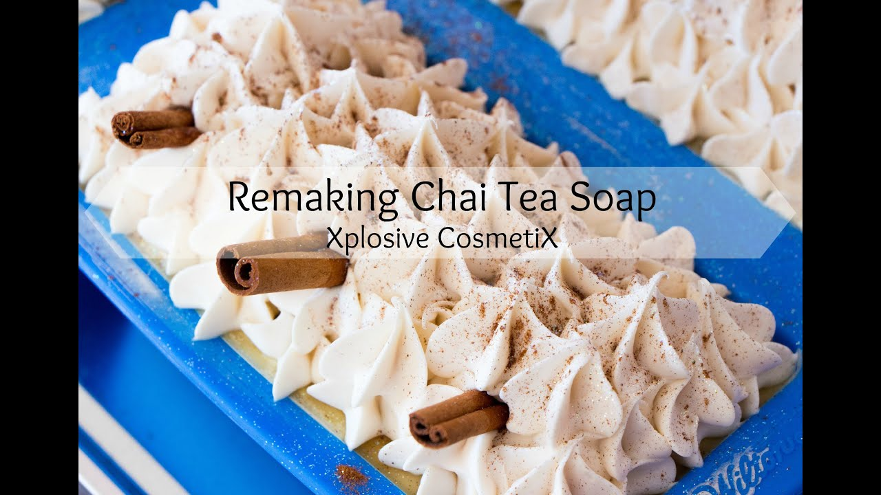 Remaking Chai Tea Cold Process Soap - YouTube