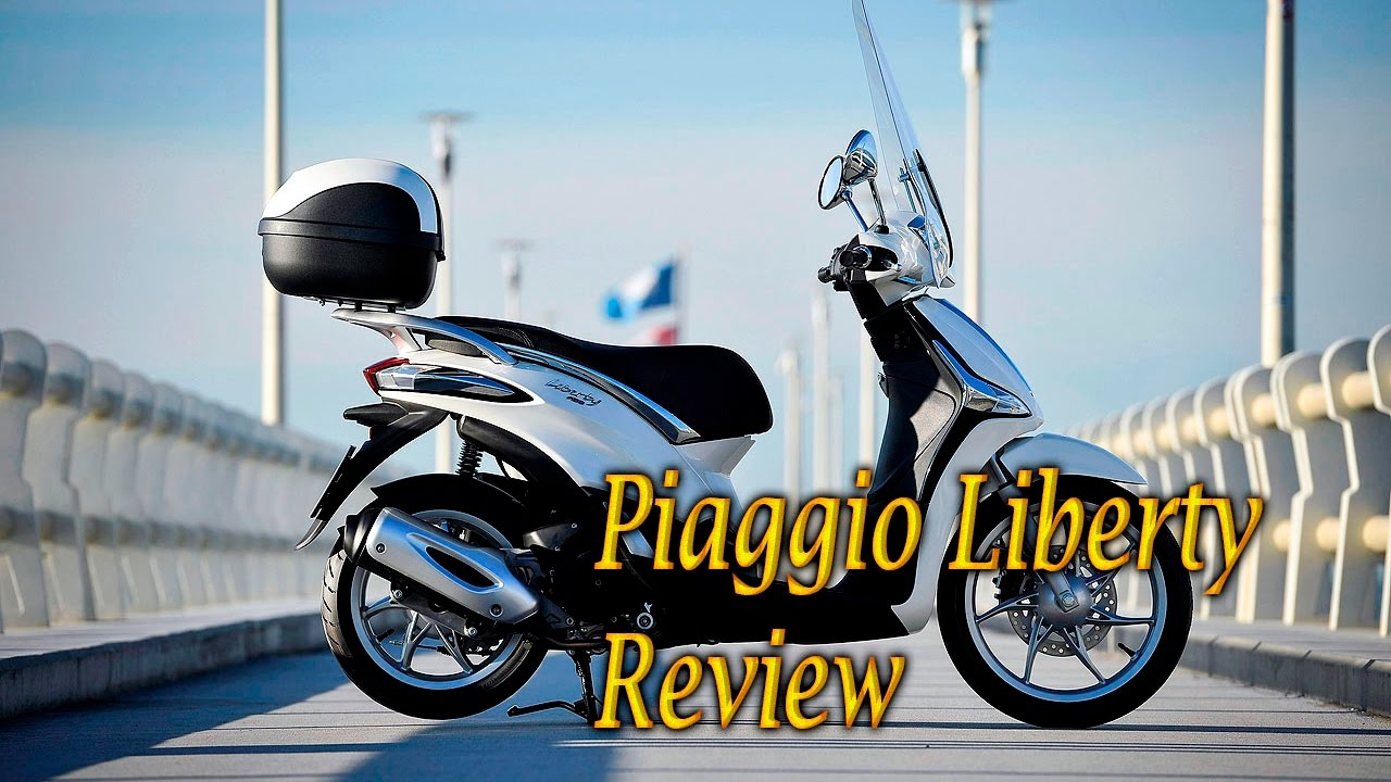 piaggio liberty price, specs, review, pics mileage // 10 bike