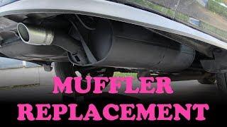 Toyota Muffler Repair / Replacement