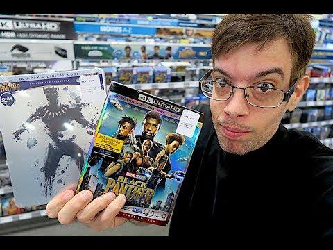 Hoarding Up -  Black Panther Best Buy Steelbook !!!