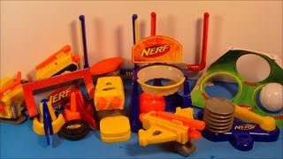 2009 NERF SET OF 8 McDONALD