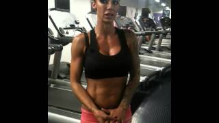 jodie marsh last day training after losing 22lbs fat in 55 days 2011 part 3