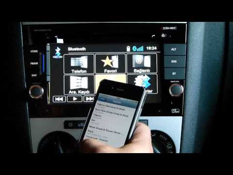 ZENEC ZE-NC5011D OPEL Astra (H) - Corsa (D) - Zafira Bluetooth Tanıtım Videosu