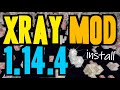Xray mod 1 14 4 minecraft how to download install x ray 1 14 4 no forge on windows mp3