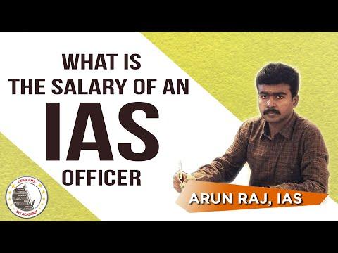 What Is The Salary Of An IAS Officer ? Training - Chief Secretary | Mr. Arun Raj, IAS