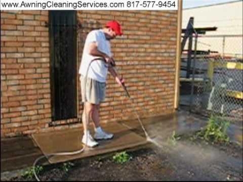 Power Washing Pressure Washing Dallas Fort Worth TX 817-577-9454 Awning Cleaning since 1984