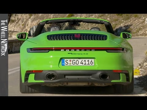 2020 Porsche 911 Carrera 4S Cabriolet | Lizard Green | Driving, Interior, Exterior