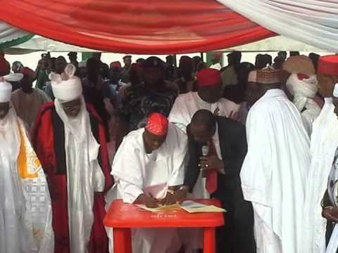 GOV. KWANKWASO signed the Kano State Street Begging Prohibition Law