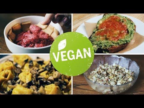 Qué como en un día » vegano y SÚPER FÁCIL