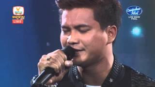 Cambodian Idol | Live Show | Final | ម៉ៅ ហាជី | ឈឺចាប់បន្តិចម្ដង