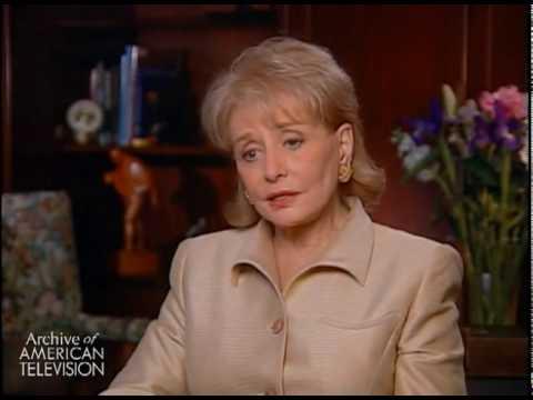 """Barbara Walters Interview Part 1 of 4 - EMMYTVLEGENDS.ORG"""
