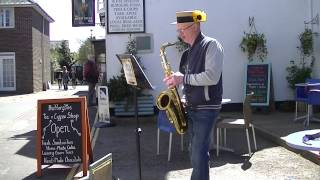 Sax Busking in Yarmouth Isle of Wight