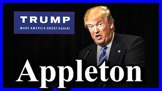 LIVE Donald Trump Rally in Appleton Wisconsin FULL SPEECH HD (3-30-16) 2:00 PM CDT ✔