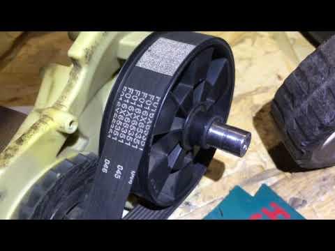 Ремонт газонокосилки бош арм 34 своими руками