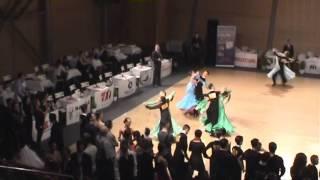 Szalai Dénes Balla Petra Bécsi keringő  BRNO Open 2014 WDSF Junior II