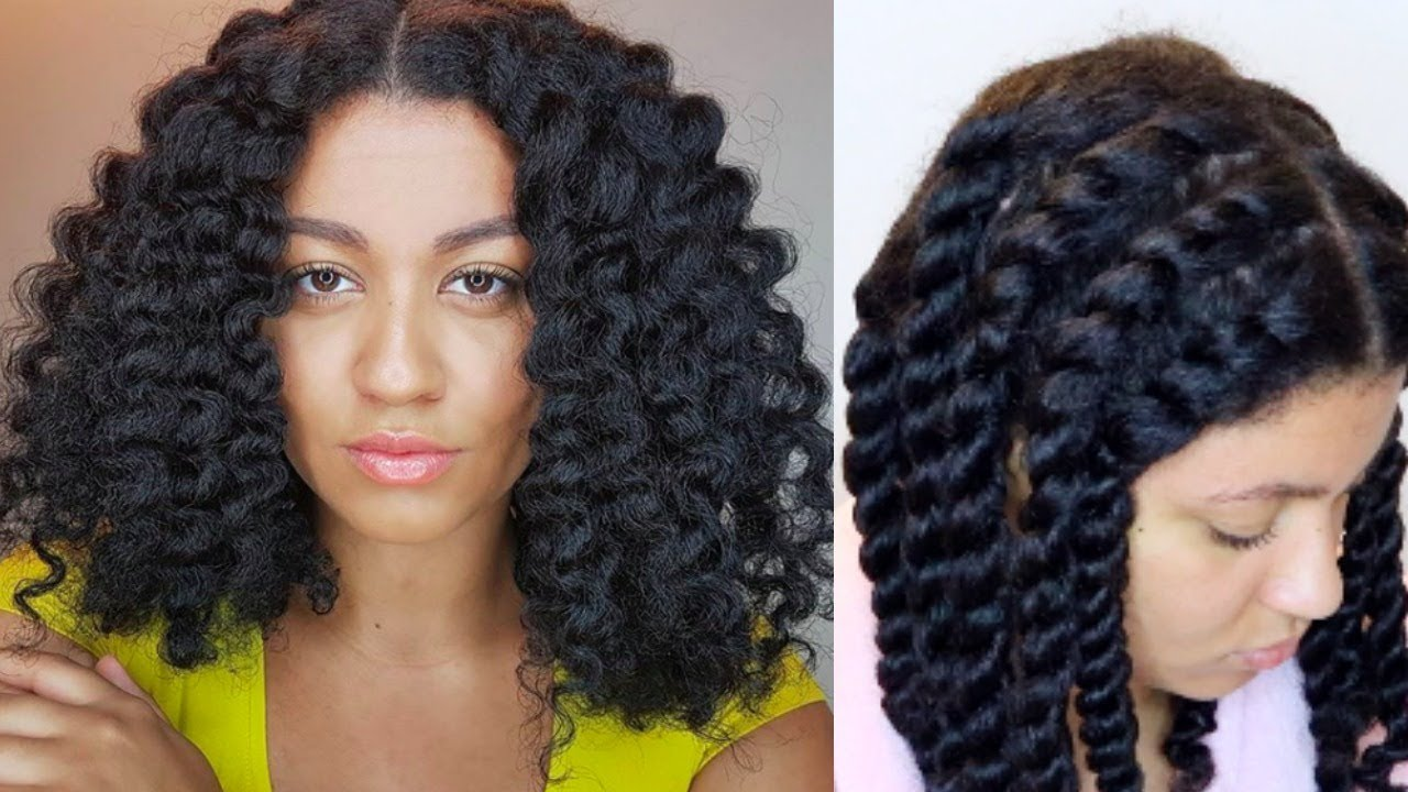 How To⎜DEFINED Flat Twist Out On Natural Hair (Beginner