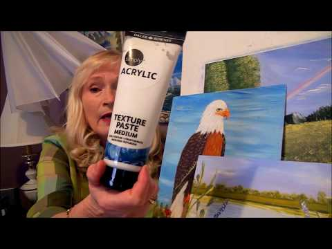 3 Must have MEDIUMS for your Acrylic Paintings, and how to use them.