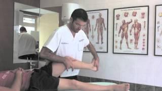 Rodilla. Terapia manual osteopática. Bl...