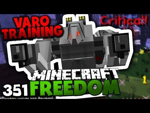 VARO 4 TRAINING & KAMPFROBOTER ANGRIFF?! ✪ Minecraft FREEDOM #351 [ DEUTSCH ] | Paluten