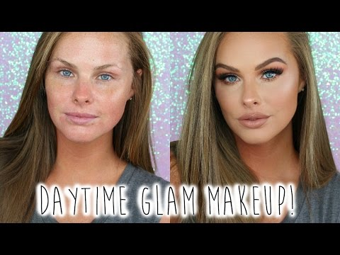 Daytime Glam Makeup look!