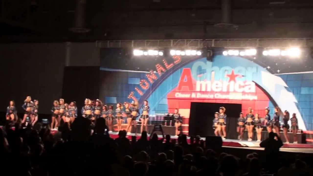 Cheer Athletics Firecats 2012-13