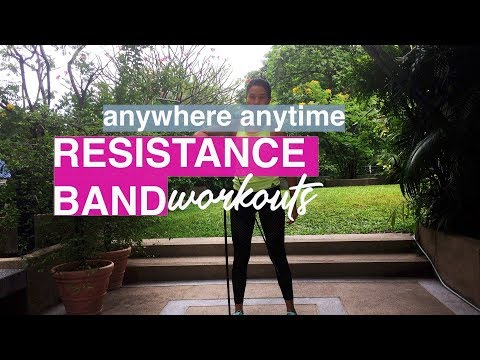 Anywhere Anytime Resistance Band Workouts