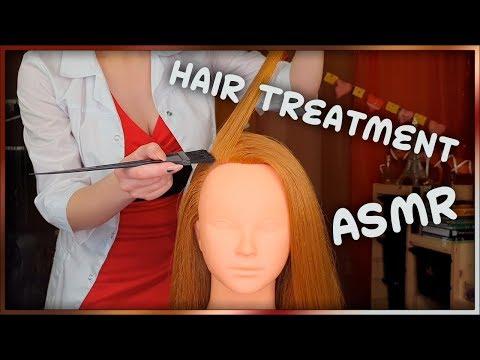 АСМР ✨ Уход за Волосами Без Разговоров 👩 ASMR ✨ Hair Treatment No Talking  👩
