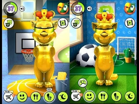 My talking tom gold gameplay trailer hd youtube - My talking tom pictures ...