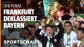 DFB-Pokal: Eintracht Frankfurt sensationell Pokalsieger