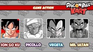Trò chơi Songoku đua xe bình luận vui nhộn Dragon Ball Kart #1