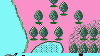 Golf (Game Boy Version) Japan Course