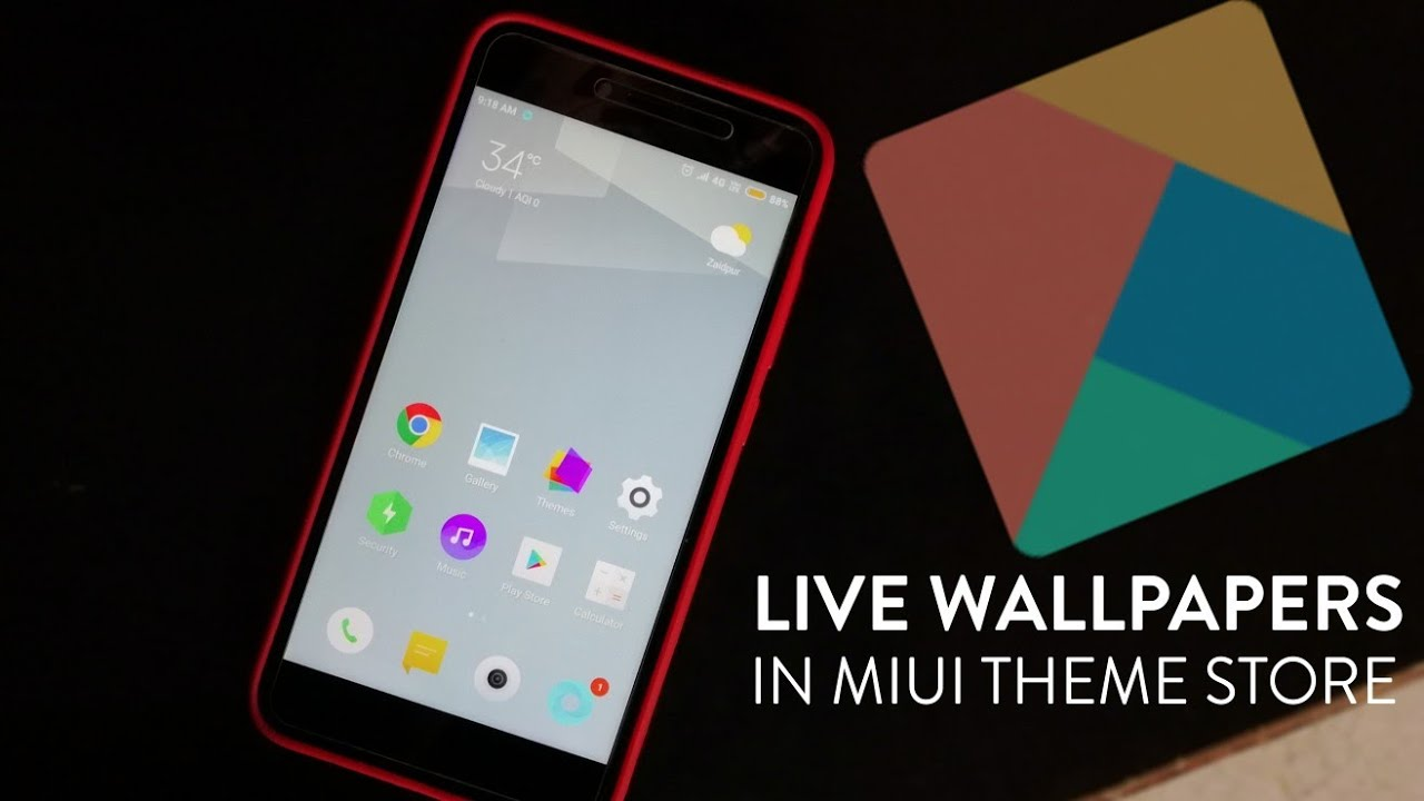 Download Live Wallpaper From Miui Theme Store Youtube