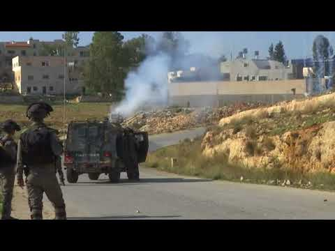 Palestinians Clash With Israeli Soldiers During Protest For Young Activist